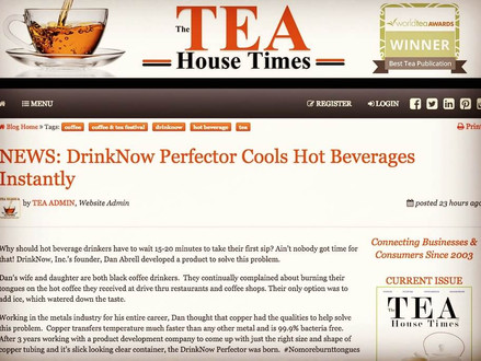 We're Thrilled to Be Featured in The Tea House Times!