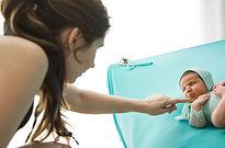 making of grismedio fotografia newborn