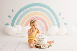 fotografia primer cumpleaños smash cake zaragoza fotografa infantil bebe 2