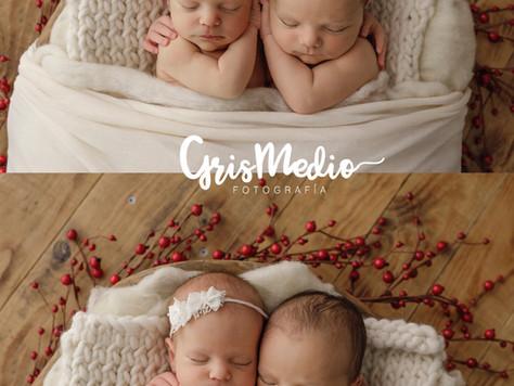 Newborn Zaragoza - Recién Nacido mellizos Fotografía