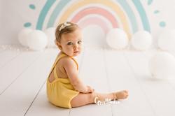 fotografia primer cumpleaños smash cake zaragoza fotografa infantil bebe