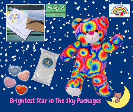 Brightest Star In The Sky Package - Rainbow Bear