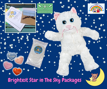 Brightest Star In The Sky Package - Marshmallow the Cat