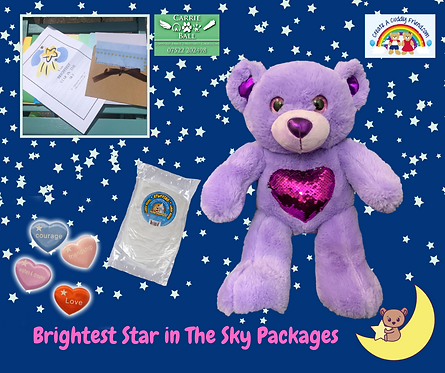Brightest Star In The Sky Package - Glitz and Glam Bear