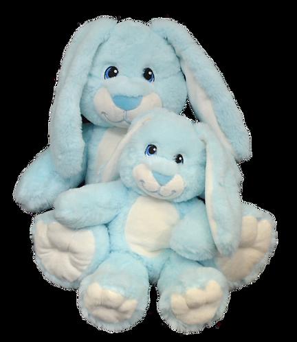 Hoppity The Blue Super Soft Bunny 8 inch