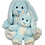 Thumbnail: Hoppity The Blue Super Soft Bunny 16 inch
