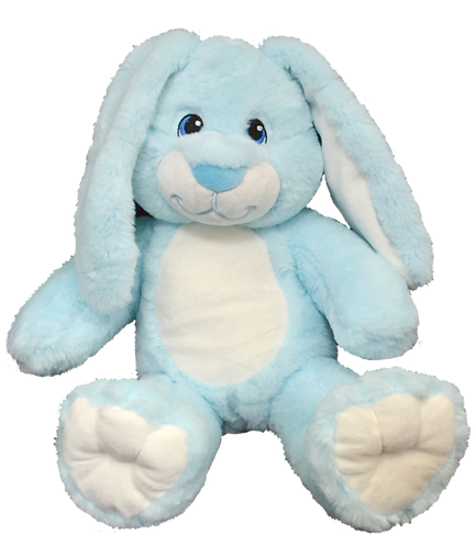 Hoppity The Blue Super Soft Bunny 16 inch