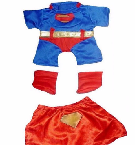 Super Bear Outfit 8 inch