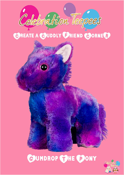 Gumdrop Pony 8 inch
