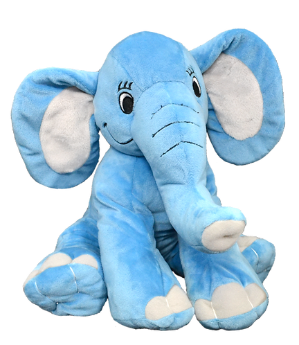 Elmer The Blue Elephant 16 inch