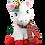 Thumbnail: Joy the Christmas Unicorn 16 inch Create A Festive Cuddly Friend Package