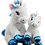 Thumbnail: Hope the Winter Unicorn 8 inch Create AFestive Cuddly Friend Package