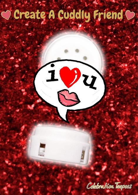 Kiss & I Love You sound insert