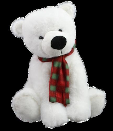 Pierre The polar Bear 8 inch Create A Festive Cuddly Friend Package