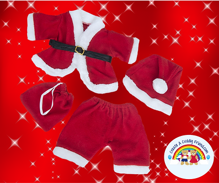 Santa Outfit 16 Inch