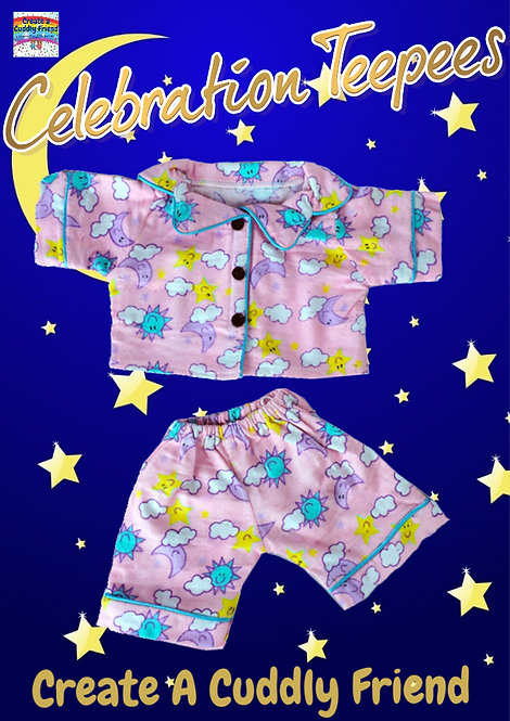 Sunny Days PJs Pink 16 inch