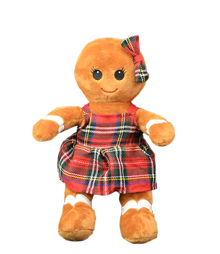 Mrs Bow Tie The Gingerbread Girl 8 Inch