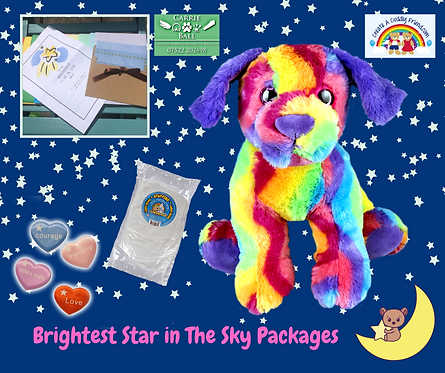 Brightest Star In The Sky Package -Rainbows The dog
