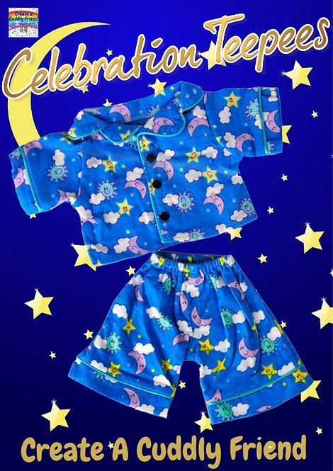 Sunny Days PJs Blue 16 inch