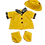 Thumbnail: Yellow Raincoat with hat and wellies 16 inch