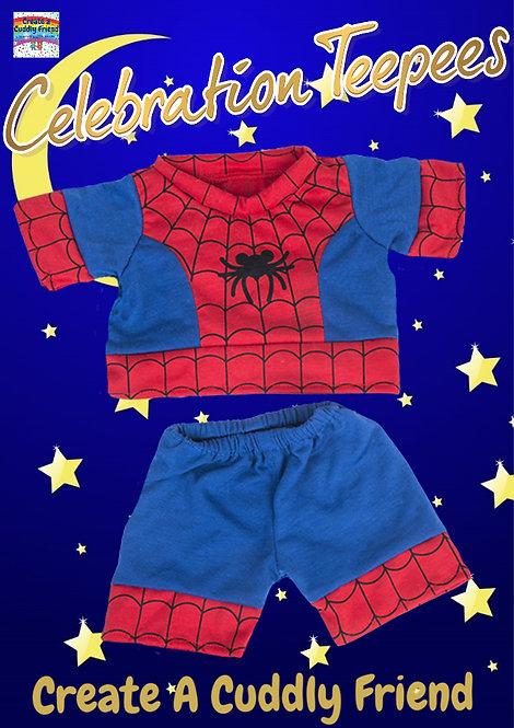 Spiderbear PJs 16 inch