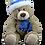 Thumbnail: Toboggan the Teddy 8 inch Create A Cuddly Festive Friend Package