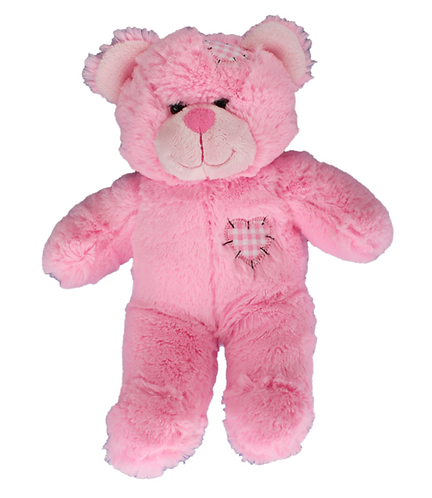 Pink Patches Bear Create A Cuddly Friend Package 8 inch