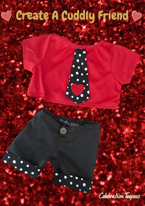 Party Heart-y Boys outfit 16 inch