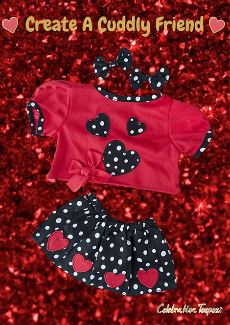 Party Heart-y Girls outfit 16 inch
