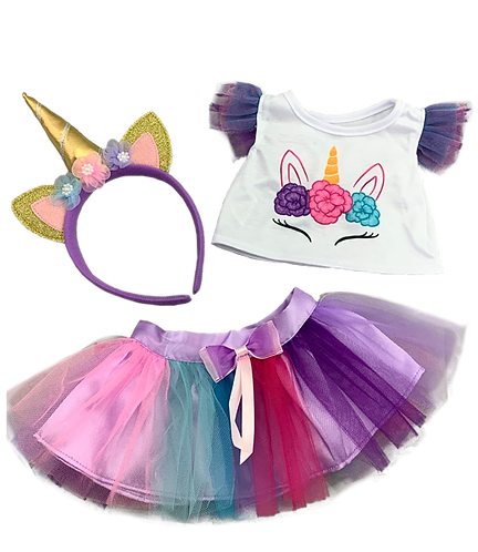 16 inch Unicorn outfit