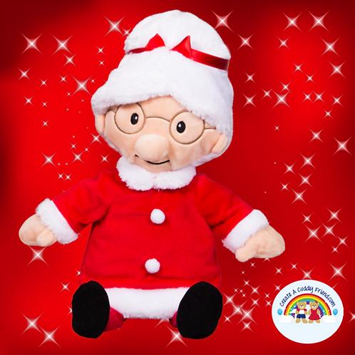 Create a Cuddly Festive Friend Package - Mrs C 8 Inch