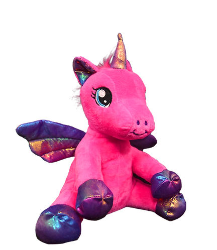 Nova The Pink Rainbow Winged Unicorn 8 inch