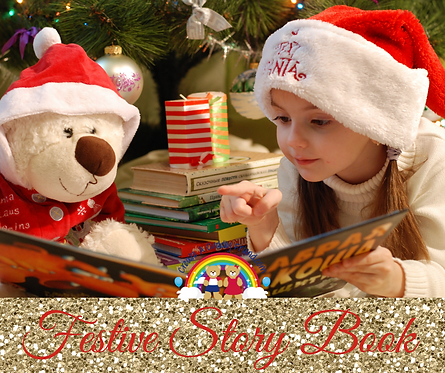 Festive Book for Christmas Eve Box