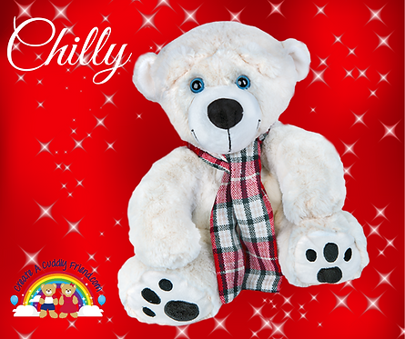Create A Cuddly Festive Friend - Chilly 16 inch Package