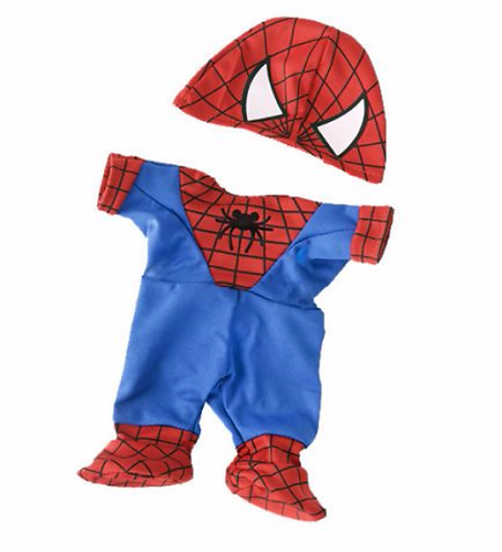 Spider Bear outfit 8 inch