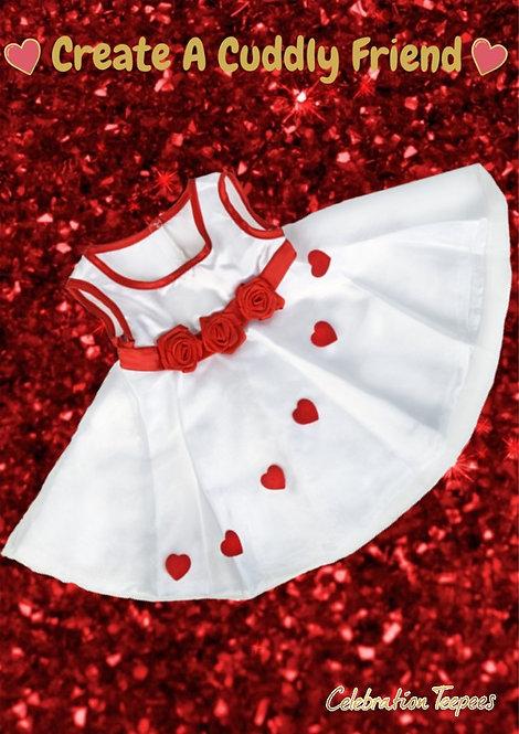 Adorable Heart Dress 8 inch