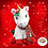 Thumbnail: Joy The Christmas Unicorn 16 inch Christmas Eve Box Filler Pack