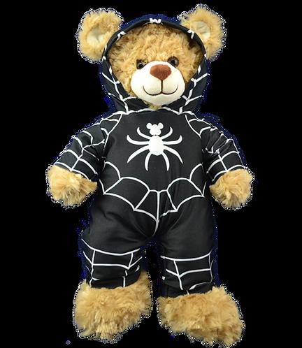 Black Spider Morph Suit 16 inch