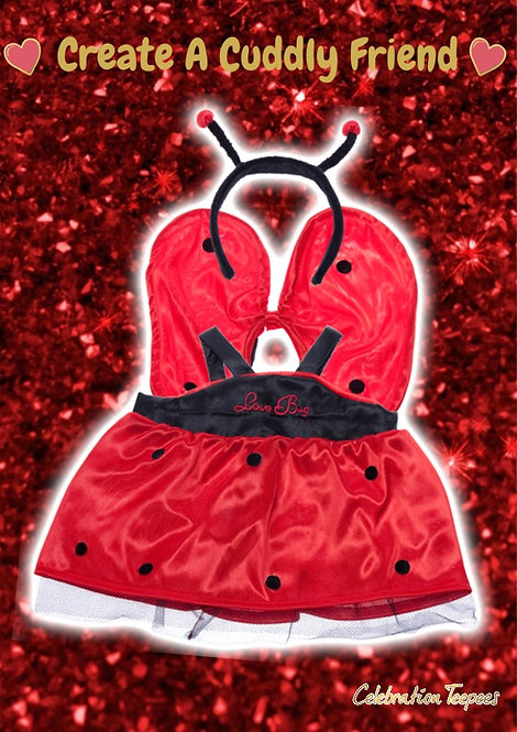 copy of Love Bug Outfit 16 inch