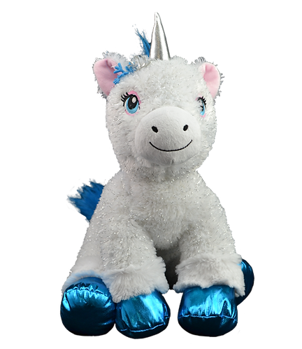 Hope the Winter Unicorn 8 inch Create AFestive Cuddly Friend Package