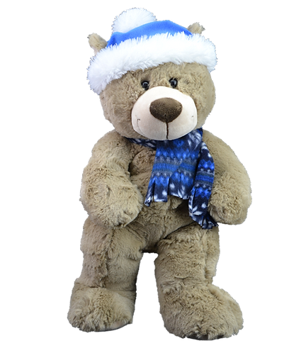 Toboggan the Teddy 8 inch Create A Cuddly Festive Friend Package