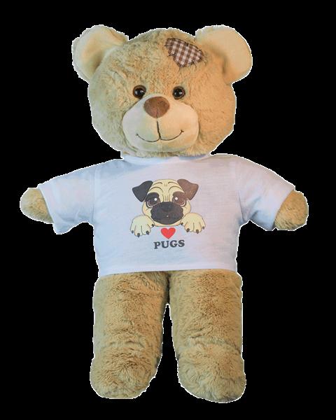 Love Pugs T-shirt - 16 inch