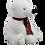 Thumbnail: Pierre The polar Bear 8 inch Create A Festive Cuddly Friend Package