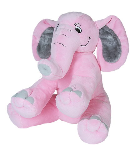 Pinky The Elephant 16 inch