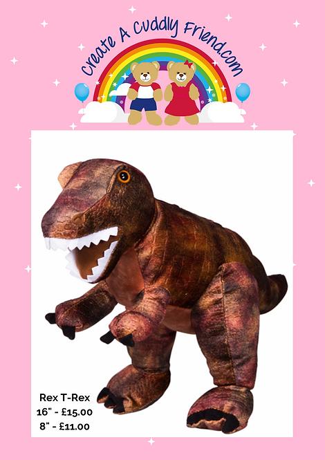 Create A Cuddly Friend - Rex the T-Rex16 inch