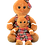 Thumbnail: Mrs Bow Tie The Gingerbread Girl 8 Inch