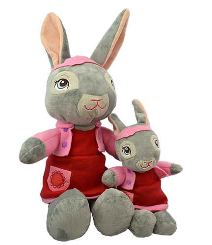 Lily Bobtail 16 inch Create A Cuddly Friend Package