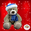 Thumbnail: Toboggan The Bear 8 inch Christmas Eve Box Filler Pack