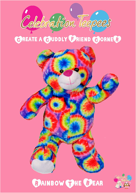 Rainbow The Bear 8 inch