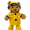 Thumbnail: Yellow Raincoat with hat and wellies 8 inch